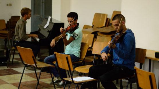 Tétouan-violonistes